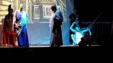 rapprasentazione dramma San Lorenzo Martire - Ente Culturale Nicola Vigliotti