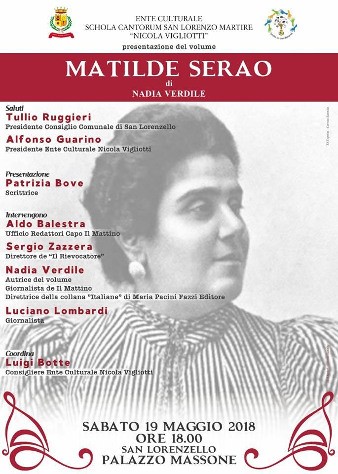 """Presentazione libro """"Matilde Serao 'a signora"""""""