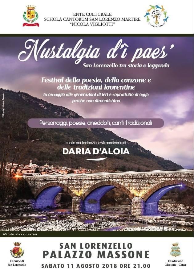 locandina evento nustalgia d'ì paes
